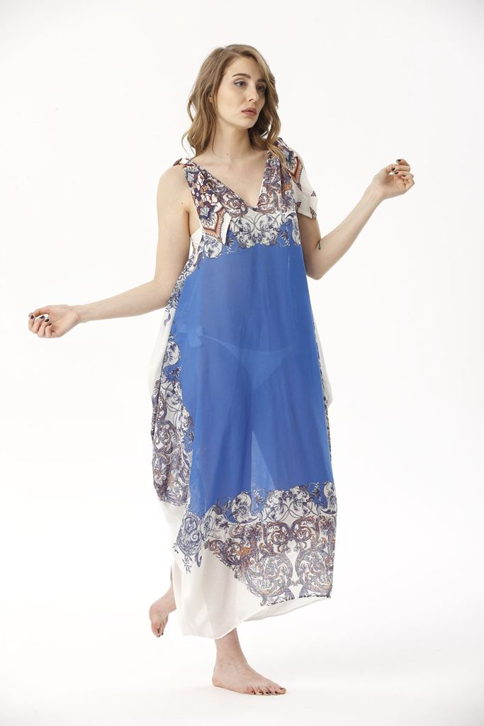 Picture of 17SFCT013 BEACH DRESS