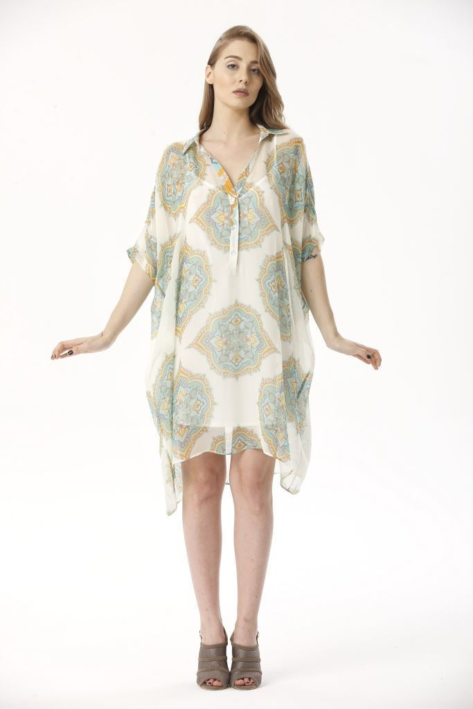 Picture of 17SFSG050 TUNIC DRESS