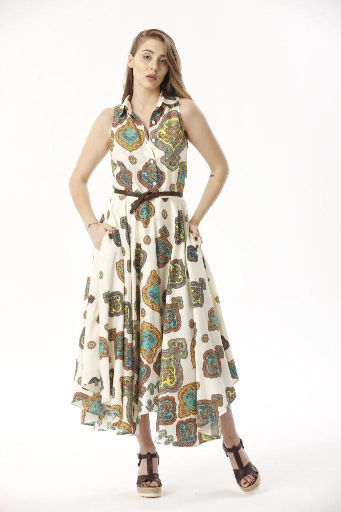 Picture of 17SFSC146 LONG DRESS