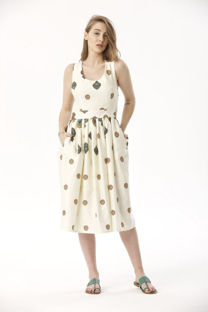 Picture of 17SFSC147 LONG DRESS