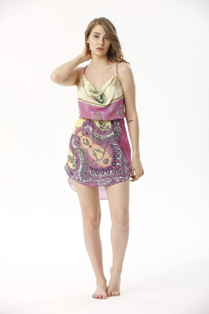 Picture of 17SFCT201 MINI BEACH DRESS