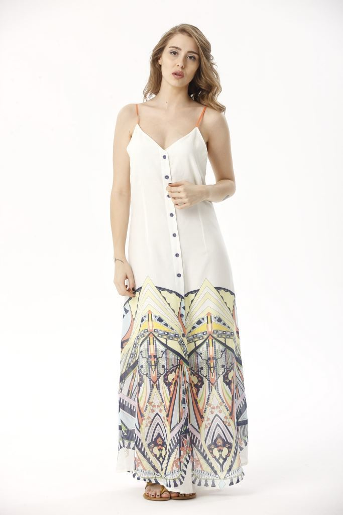 Picture of 17SFCT003 LONG DRESS