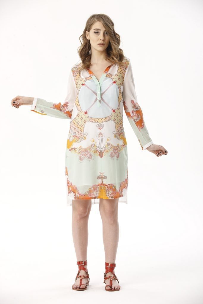 Picture of 17SFCV1024  SHIRT DRESS