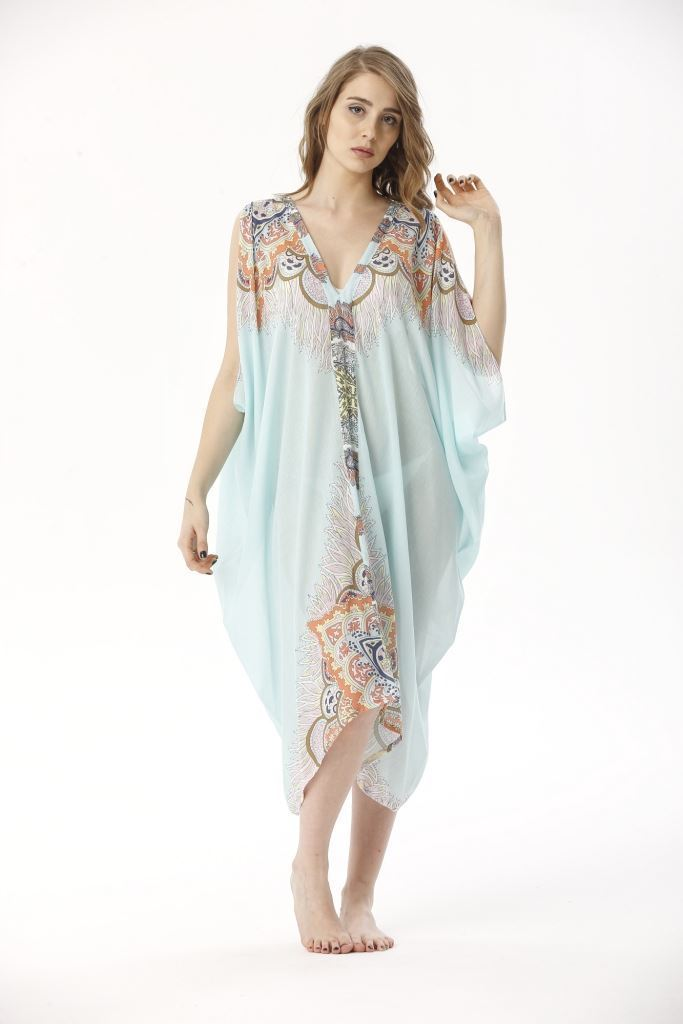 Picture of 17SFCT206 BEACH DRESS