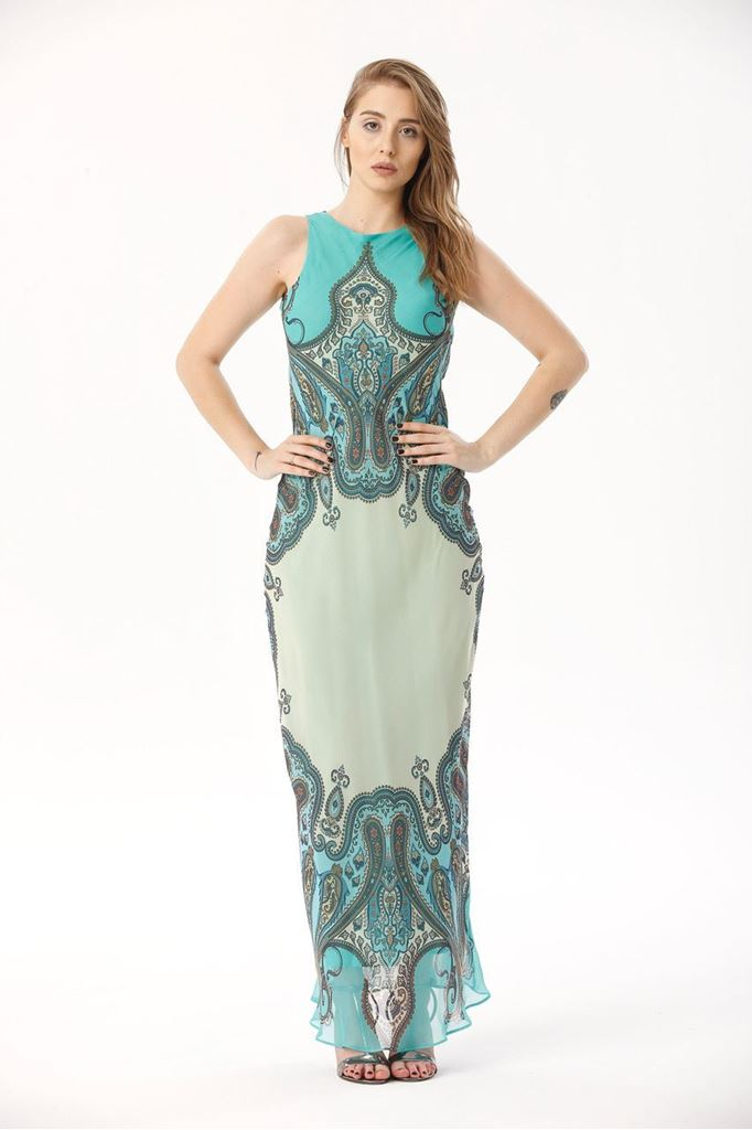 Picture of 17SGSG204 LONG DRESS