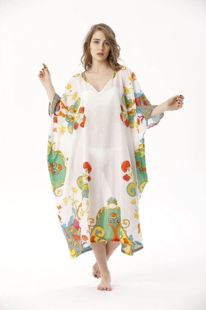 Picture of 17SFCV031 LONG CAFTAN