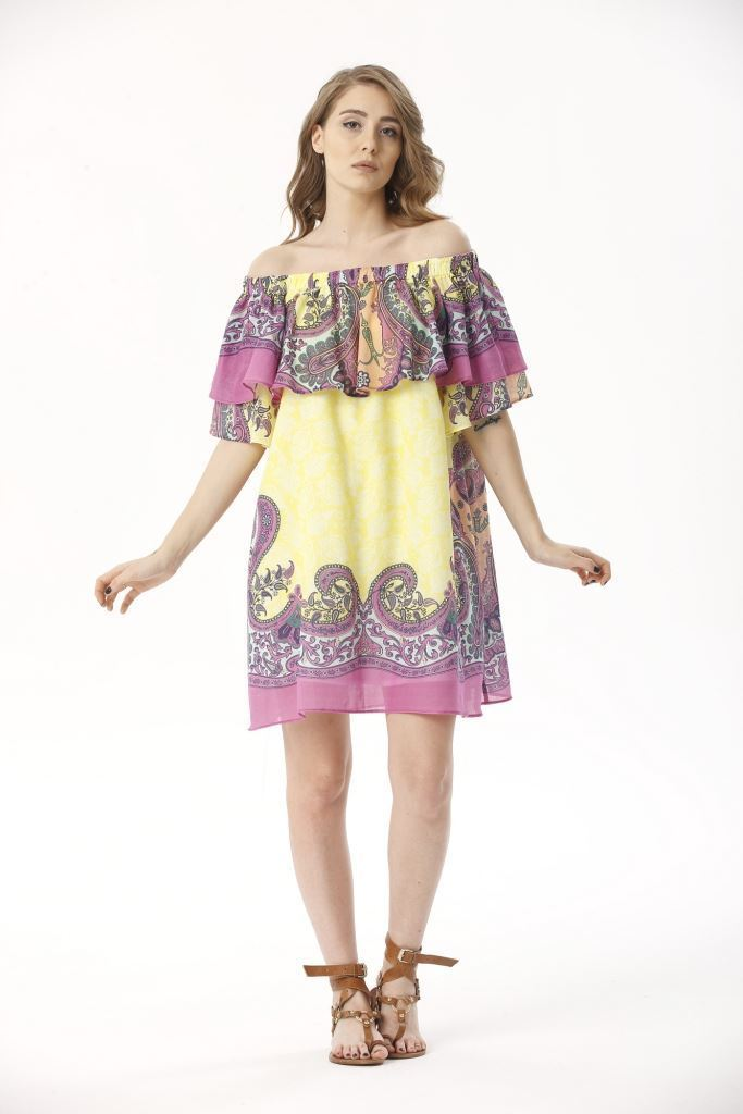 Picture of 17SFCT051 DRESS