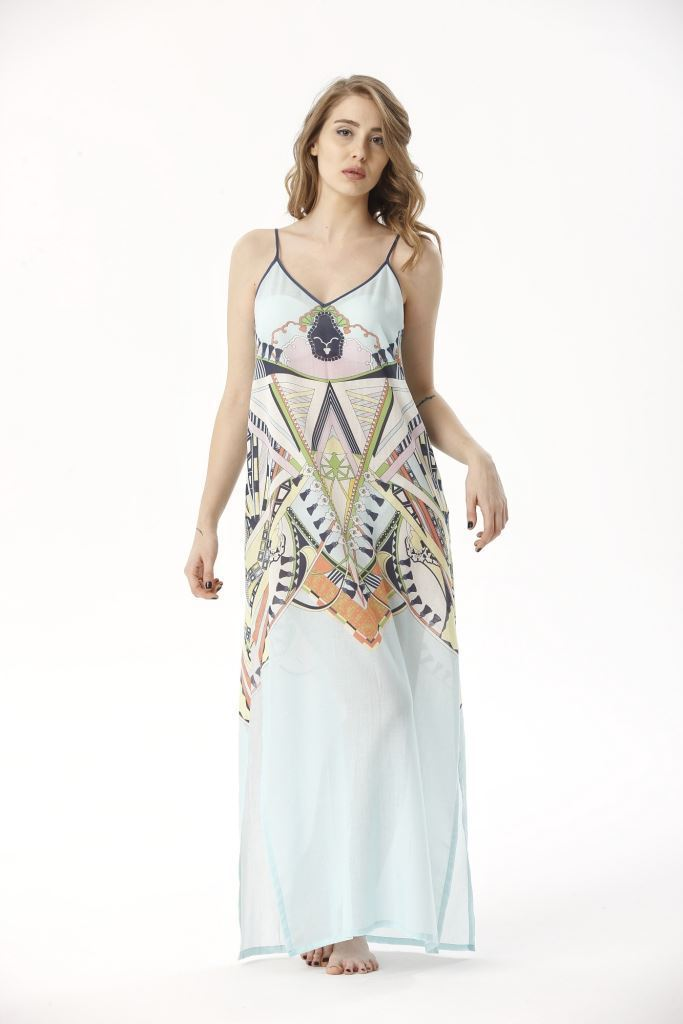 Picture of 17SFCT198 BEACH DRESS
