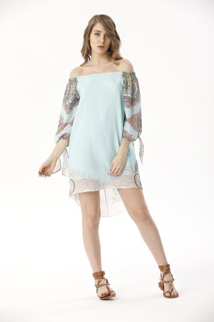 Picture of 17SFCT122 DRESS